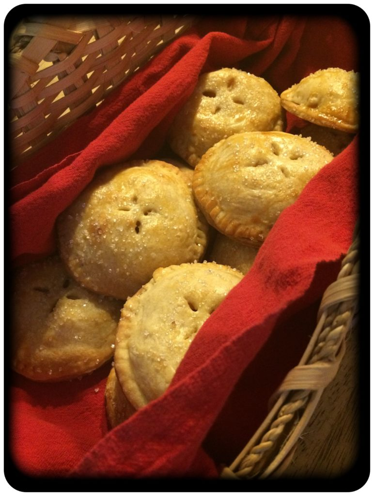 Basketful of hand pies
