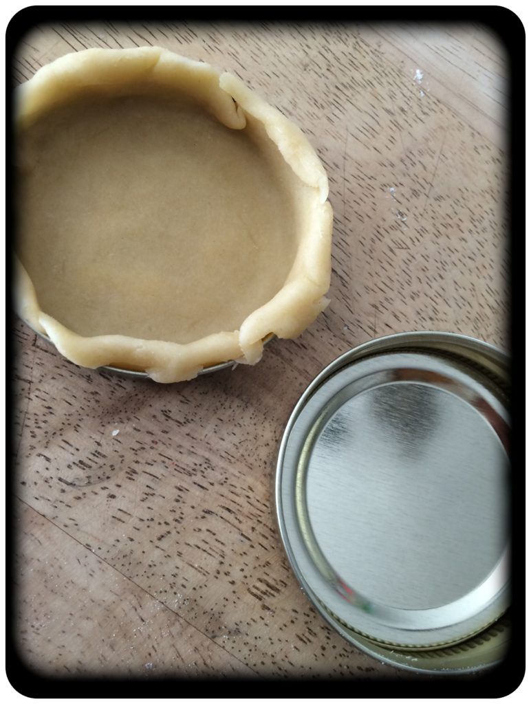 Mini Pie and mason Jar Lid