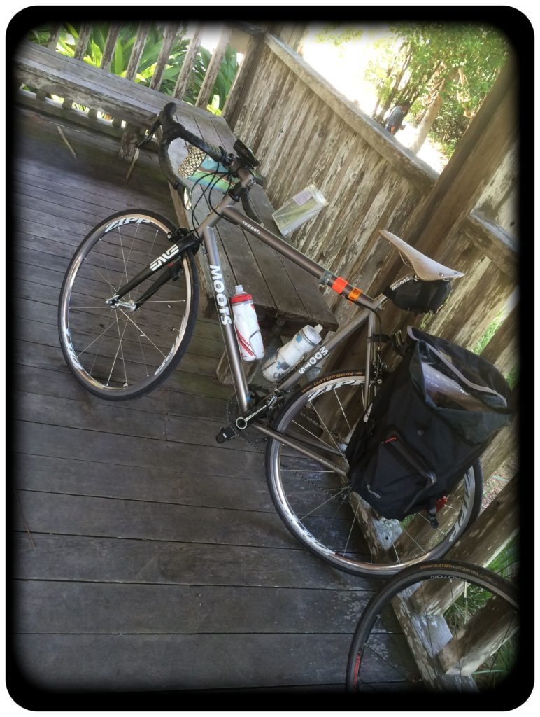 Bicycling and art abandonment